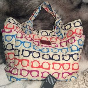 NWOT Marc Jacob's Sunglasses Tote